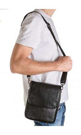 Сумка мужская на плечо из натуральной гладкой кожи VZ-015-3