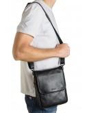 Фотография Сумка мужская на плечо из натуральной гладкой кожи  Zagora VZ-015-3