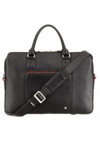 Женская черная сумка для ноутбука и документов Visconti WB70 Harriet 13 (Black)