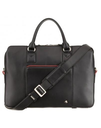 Фотография Женская черная сумка для ноутбука и документов Visconti WB70 Harriet 13 (Black)