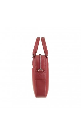 Женская красная сумка для ноутбука и документов Visconti WB70 Harriet 13 (Red)