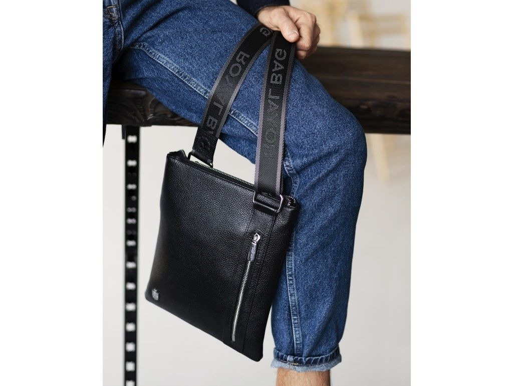 сумка мужская молодежная кожаная - магазин кенгуру