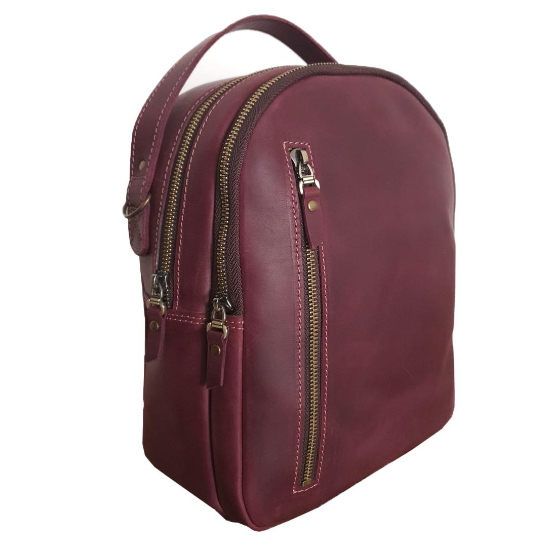 【 Купить женский кожаный рюкзак 】 в Киеве и Украине, женский рюкзак, женские модные рюкзаки   интернет магазин кожаных сумок Kengyry (Кенгуру)