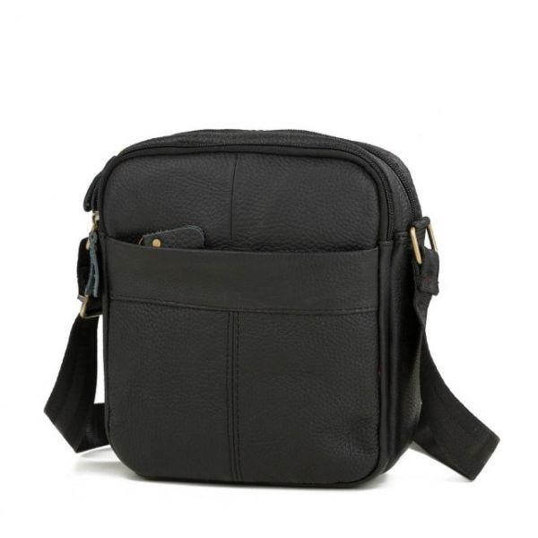Мужская кожаная недорогая сумка