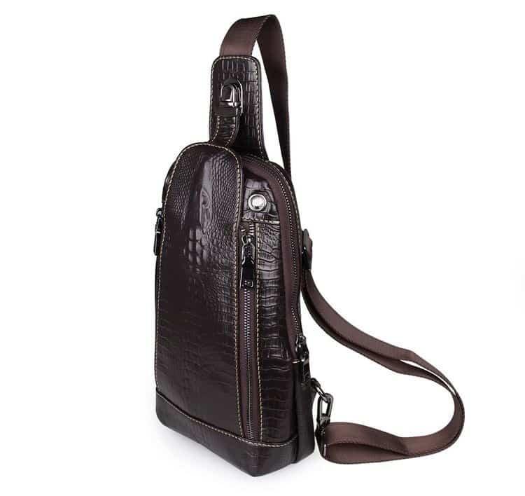 фото мужской рюкзак на одно плечо - кенгуру