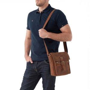 мужская сумка через плечо - кенгуру