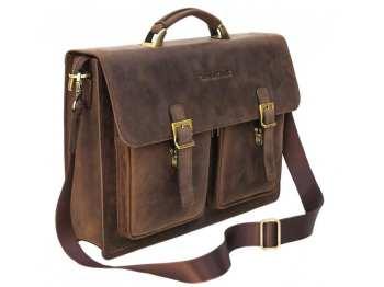 изображение портфели кожаные мужские - кенгуру