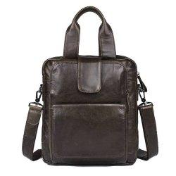 изображение кожаная мужская сумка на плечо - кенгуру