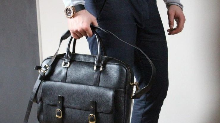 подарок мужская сумка кожаная - кенгуру магазин