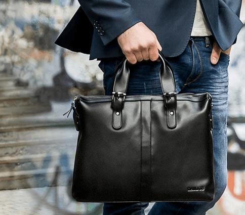 922fd31f5fb3 Мужская кожаная сумка для студента. Что выбрать