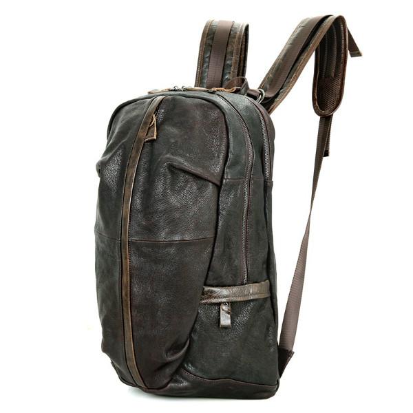 кожаный рюкзак - кенгуру