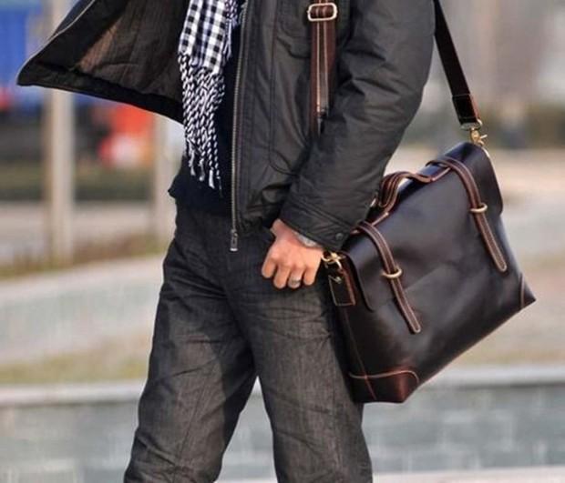 602e9194869f Лучший подарок для мужчины это мужская сумка