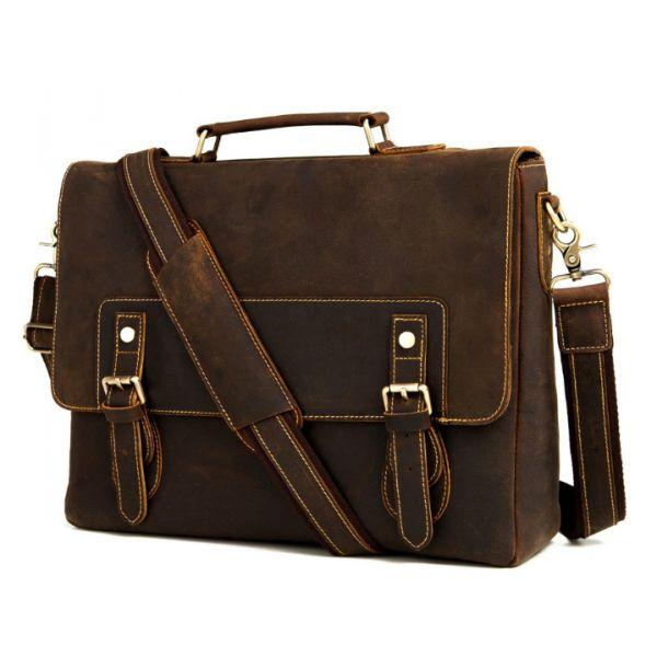 Портфель кожаный мужская сумка